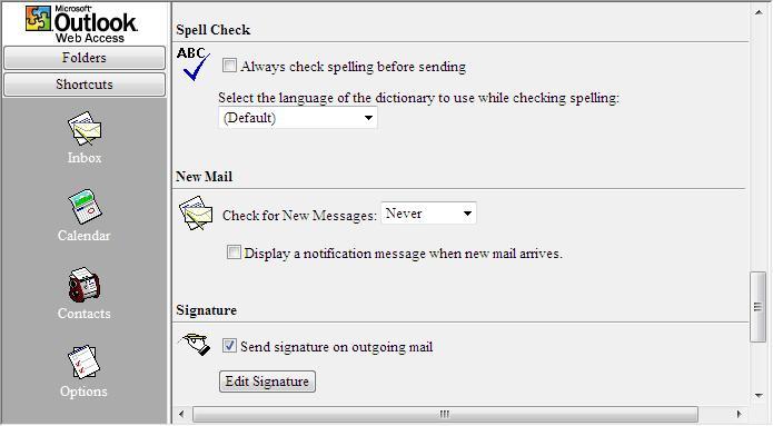Spell check settings